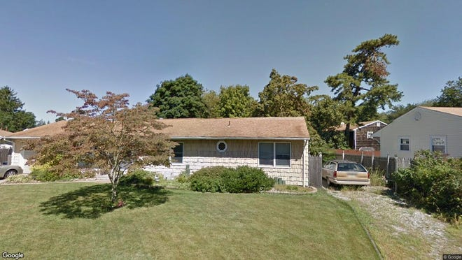 This Google Street View image shows the approximate location of 114 Holly Tree Lane in Toms River. The property at this address changed hands in July 2019, when new owner bought the property for $232,500.