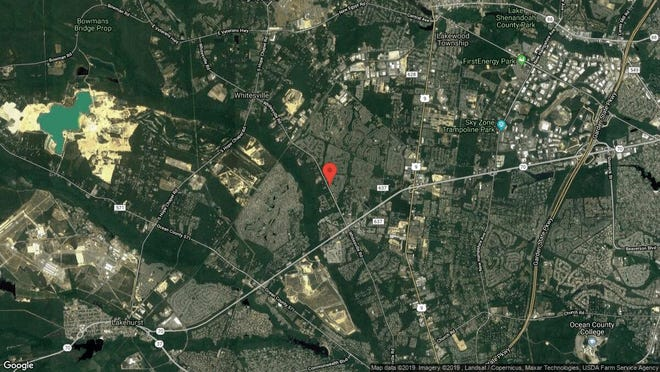 This aerial photo shows the approximate location of 2416 Forest Circle in Toms River. The property at this address changed hands in July 2019, when new owners bought the property for $505,000.