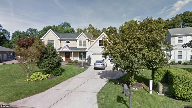 This Google Street View image shows the approximate location of 2176 Chapel Court in Toms River. The property at this address changed hands in June 2019, when new owners bought the property for $535,000.