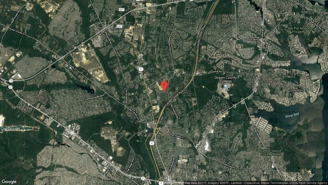 This aerial photo shows the approximate location of 1602 Thames Way in Toms River. The property at this address changed hands in July 2019, when new owner bought the property for $553,920.