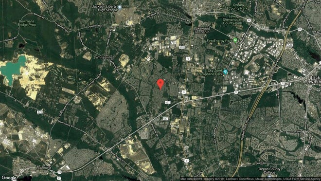 This aerial photo shows the approximate location of 2749 Rockport Lane in Toms River. The property at this address changed hands in July 2019, when new owner bought the property for $332,000.