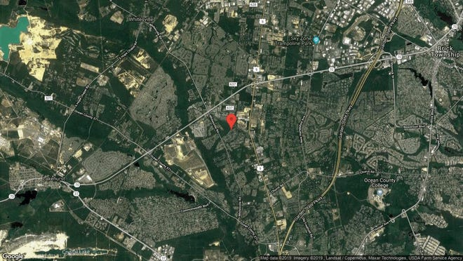 This aerial photo shows the approximate location of 125 Grande Woodlands Way in Toms River. The property at this address changed hands in July 2019, when new owner bought the property for $478,000.