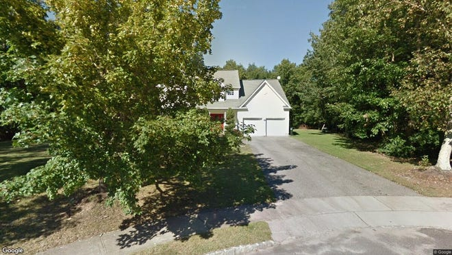 This Google Street View image shows the approximate location of 10 Tall Oaks Drive in Jackson. The property at this address changed hands in July 2019, when new owners bought the property for $457,500.