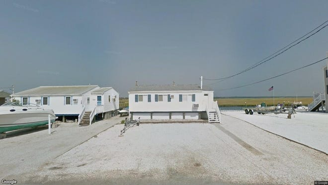 This Google Street View image shows the approximate location of 398 Kingfisher Road in Tuckerton. The property at this address changed hands in July 2019, when new owners bought the property for $245,000.