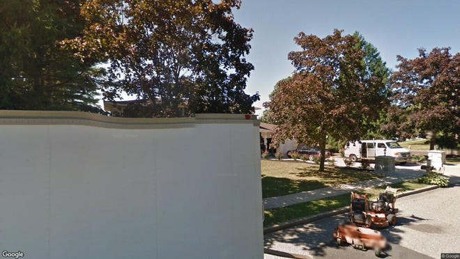This Google Street View image shows the approximate location of 602 Rolling Hills Drive in Brick. The property at this address changed hands in July 2019, when new owner bought the property for $599,000.