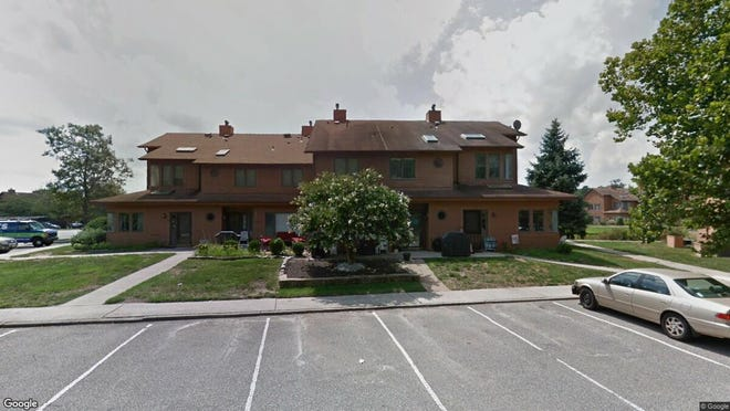 This Google Street View image shows the approximate location of 14 English Lane in Brick. The property at this address changed hands in June 2019, when new owners bought the property for $155,000.