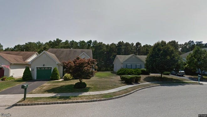This Google Street View image shows the approximate location of 51 Molly Lane in Brick. The property at this address changed hands in July 2019, when new owners bought the property for $277,500.