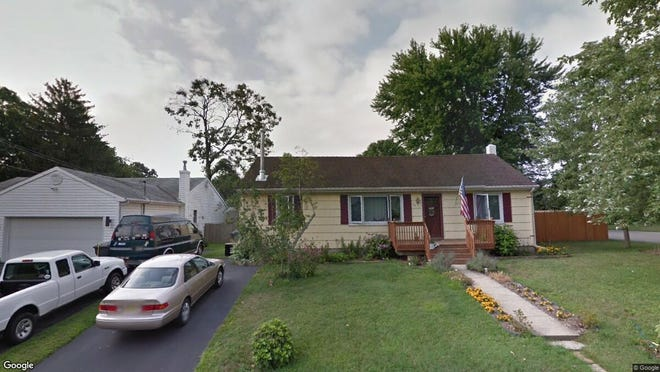 This Google Street View image shows the approximate location of 745 Baltic Drive in Brick. The property at this address changed hands in August 2019, when new owners bought the property for $236,000.