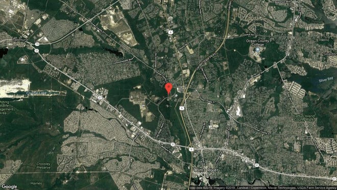 This aerial photo shows the approximate location of 1247 Coulter St. in Toms River. The property at this address changed hands in July 2019, when new owner bought the property for $310,000.