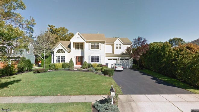 This Google Street View image shows the approximate location of 117 Grande Woodlands Way in Toms River. The property at this address changed hands in July 2019, when new owner bought the property for $567,000.