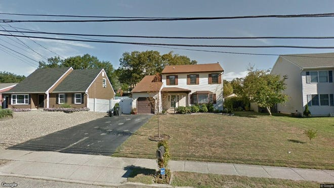 This Google Street View image shows the approximate location of 1134 Federal Way in Toms River. The property at this address changed hands in July 2019, when new owners bought the property for $365,000.