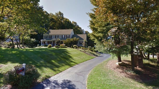 This Google Street View image shows the approximate location of 40 Heather Lane in Randolph. The property at this address changed hands in June 2019, when new owners bought the property for $725,000.