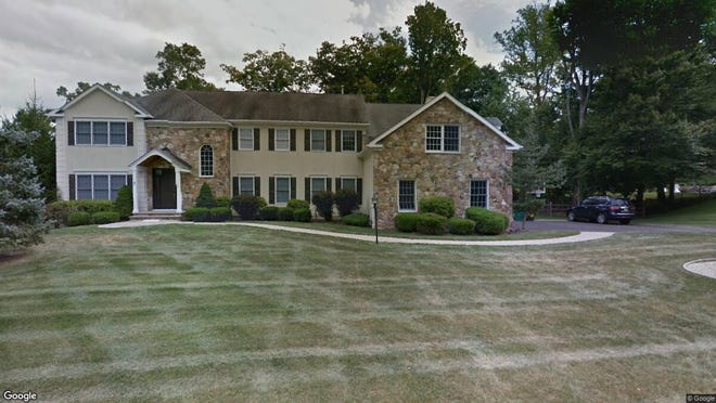 This Google Street View image shows the approximate location of 3 Rockwell Court in Mendham Township. The property at this address changed hands in May 2019, when new owners bought the property for $1,100,000.