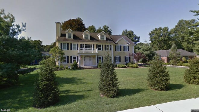 This Google Street View image shows the approximate location of 361 Shunpike Road in Chatham Township. The property at this address changed hands in June 2019, when new owners bought the property for $1,650,000.