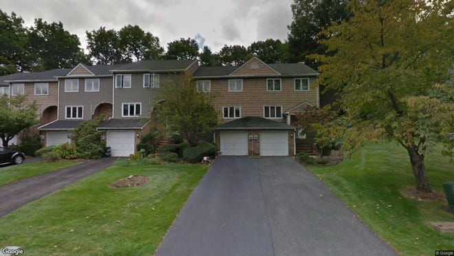 This Google Street View image shows the approximate location of 155 Patriots Road in Parsippany-Troy Hills. The property at this address changed hands in August 2019, when new owner bought the property for $383,500.