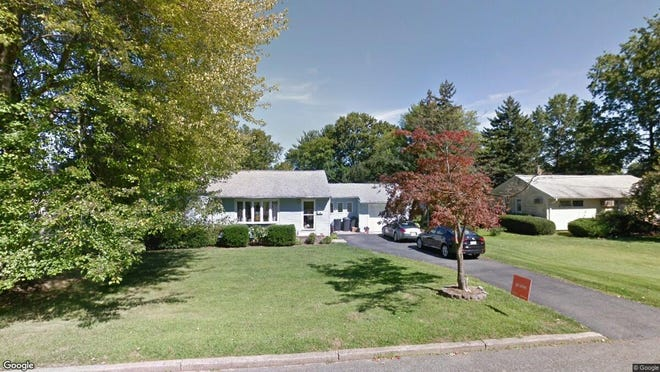 This Google Street View image shows the approximate location of 103 Hillside Terrace in Parsippany-Troy Hills. The property at this address changed hands in August 2019, when new owners bought the property for $410,000.