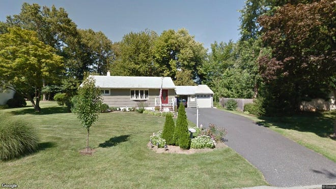 This Google Street View image shows the approximate location of 41 Springview Drive in Parsippany-Troy Hills. The property at this address changed hands in August 2019, when new owners bought the property for $377,000.