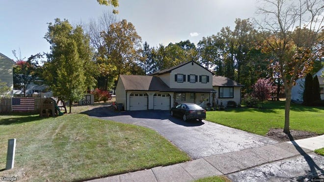 This Google Street View image shows the approximate location of 23 New England Drive in Parsippany-Troy Hills. The property at this address changed hands in July 2019, when new owners bought the property for $572,000.