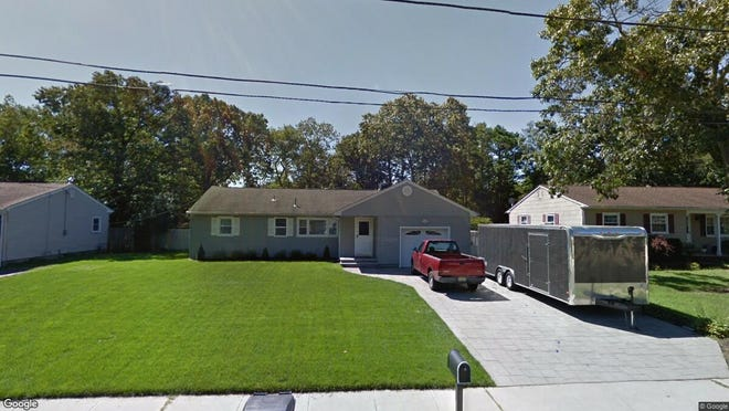 This Google Street View image shows the approximate location of 59 Oak Hill Drive in Toms River. The property at this address changed hands in June 2019, when new owners bought the property for $275,000.