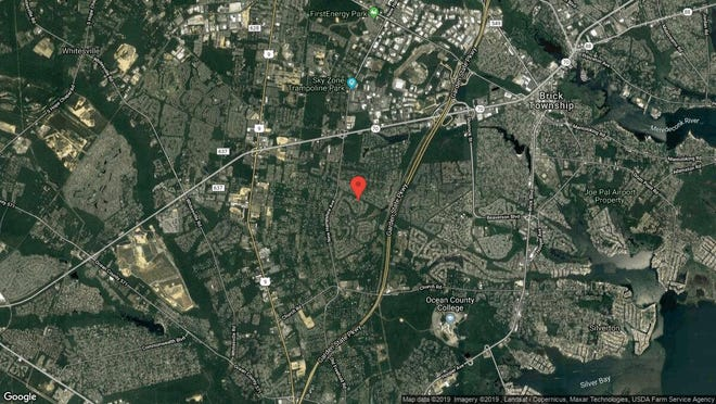 This aerial photo shows the approximate location of 2325 Coral Leaf Road in Toms River. The property at this address changed hands in July 2019, when new owners bought the property for $295,000.