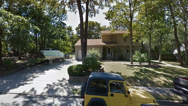 This Google Street View image shows the approximate location of 1424 Ottawa Court in Toms River. The property at this address changed hands in August 2019, when new owners bought the property for $375,000.