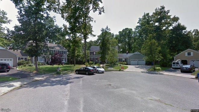 This Google Street View image shows the approximate location of 1642 Cedar Stream Court in Toms River. The property at this address changed hands in August 2019, when new owner bought the property for $450,000.