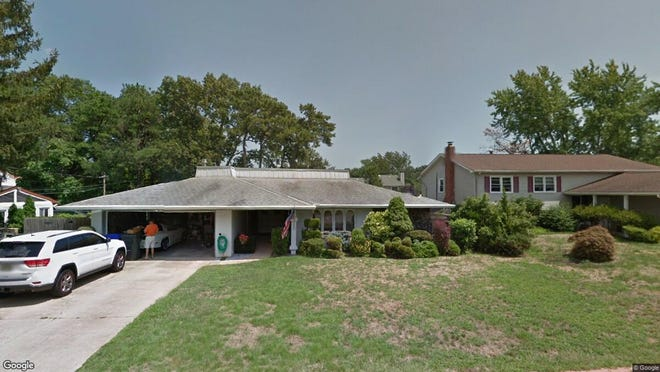 This Google Street View image shows the approximate location of 457 Lehigh Drive in Brick. The property at this address changed hands in August 2019, when new owner bought the property for $322,500.