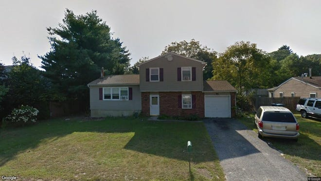 This Google Street View image shows the approximate location of 114 Jefferson Lane in Little Egg Harbor. The property at this address changed hands in July 2019, when new owner bought the property for $185,000.