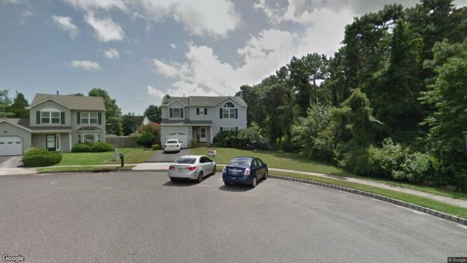 This Google Street View image shows the approximate location of 15 Joanne Court in Brick. The property at this address changed hands in August 2019, when new owner bought the property for $410,000.