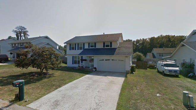 This Google Street View image shows the approximate location of 55 Hollybrook Drive in Little Egg Harbor. The property at this address changed hands in August 2019, when new owners bought the property for $229,000.