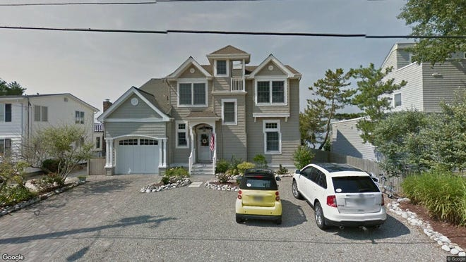 This Google Street View image shows the approximate location of 104 Auburn Road in Long Beach Township. The property at this address changed hands in September 2019, when new owners bought the property for $1,800,000.