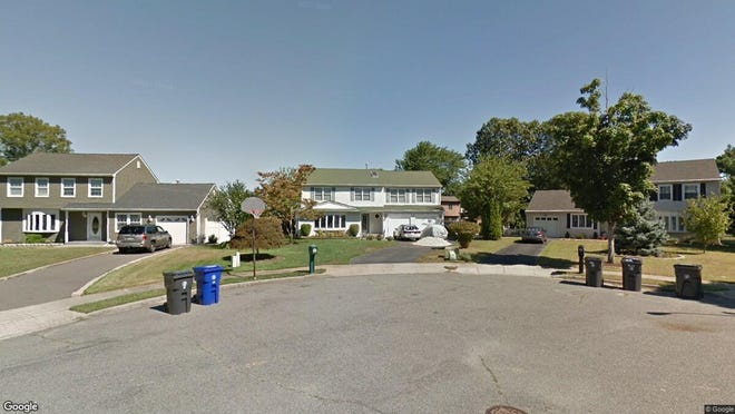 This Google Street View image shows the approximate location of 109 Venus Lane in Toms River. The property at this address changed hands in September 2019, when new owners bought the property for $389,900.