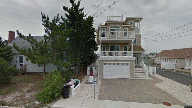 This Google Street View image shows the approximate location of 114 E. 16th St. in Ship Bottom. The property at this address changed hands in September 2019, when new owners bought the property for $1,150,000.