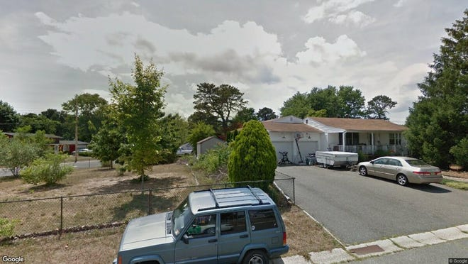 This Google Street View image shows the approximate location of 35 Colgate Drive in South Toms River. The property at this address changed hands in August 2019, when new owner bought the property for $196,000.