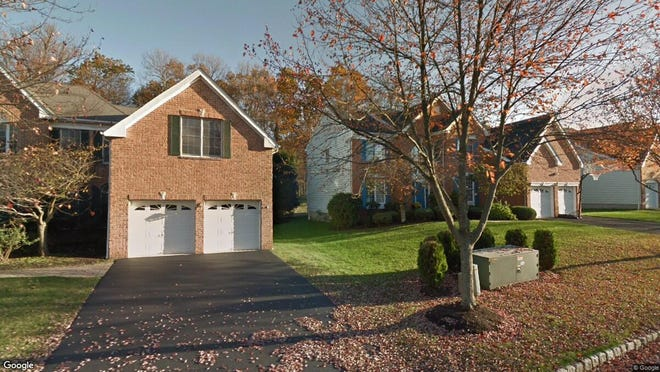 This Google Street View image shows the approximate location of 54 Sentinel Drive in Bernards. The property at this address changed hands in August 2019, when new owners bought the property for $999,995.