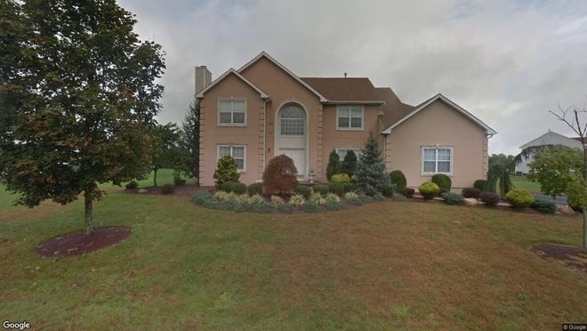 This Google Street View image shows the approximate location of 8 Corneilius Way in Franklin. The property at this address changed hands in August 2019, when new owners bought the property for $605,000.