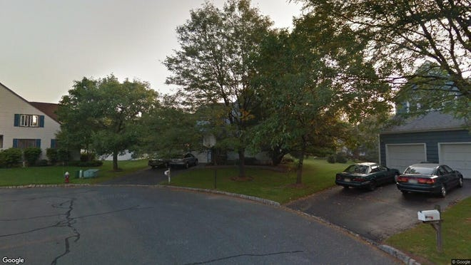 This Google Street View image shows the approximate location of 26 Huff Lane in Hillsborough. The property at this address changed hands in July 2019, when new owners bought the property for $555,000.