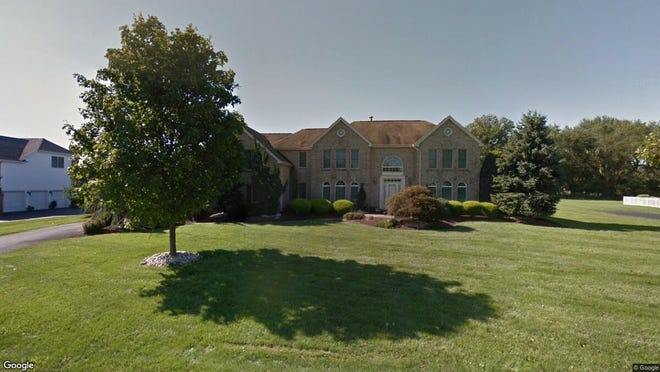 This Google Street View image shows the approximate location of 25 Steeple Drive in Hillsborough. The property at this address changed hands in July 2019, when new owners bought the property for $720,000.