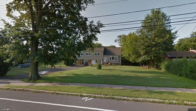 This Google Street View image shows the approximate location of 155 New Amwell Road in Hillsborough. The property at this address changed hands in August 2019, when new owners bought the property for $398,000.