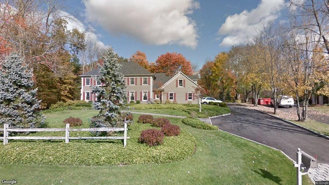 This Google Street View image shows the approximate location of 19 William Penn Road in Warren. The property at this address changed hands in August 2019, when new owner bought the property for $810,000.