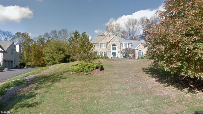 This Google Street View image shows the approximate location of 35 William Penn Road in Warren. The property at this address changed hands in July 2019, when new owner bought the property for $1,075,000.