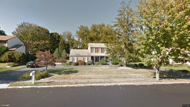 This Google Street View image shows the approximate location of 45 Brittany Road in Montville. The property at this address changed hands in July 2019, when new owners bought the property for $647,500.