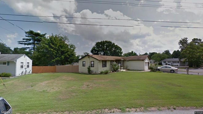 This Google Street View image shows the approximate location of 130 Orangewood Drive in Brick. The property at this address changed hands in August 2019, when new owners bought the property for $256,000.