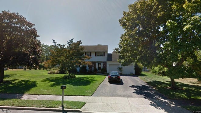 This Google Street View image shows the approximate location of 775 Williamsburg Drive in Brick. The property at this address changed hands in September 2019, when new owner bought the property for $372,000.