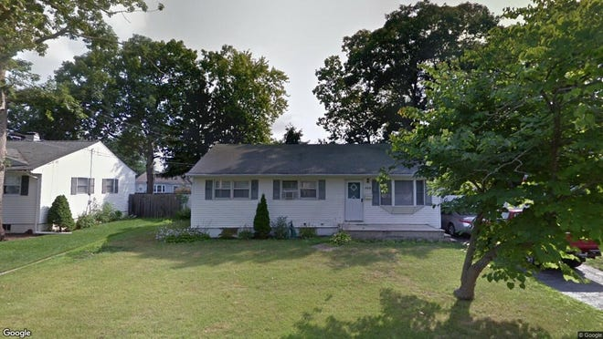 This Google Street View image shows the approximate location of 309 Arrowhead Pk.Dr. in Brick. The property at this address changed hands in September 2019, when new owners bought the property for $237,000.