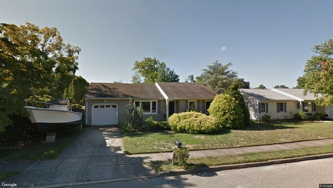 This Google Street View image shows the approximate location of 143 Riparian Way in Toms River. The property at this address changed hands in September 2019, when new owner bought the property for $252,350.