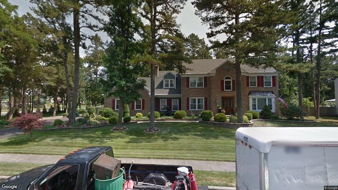 This Google Street View image shows the approximate location of 200 Jumping Brook Drive in Toms River. The property at this address changed hands in September 2019, when new owners bought the property for $475,000.
