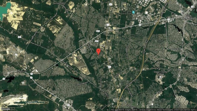 This aerial photo shows the approximate location of 1948 Powder Horn Road in Toms River. The property at this address changed hands in August 2019, when new owner bought the property for $400,000.