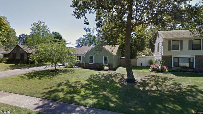 This Google Street View image shows the approximate location of 93 Westwood Drive in Toms River. The property at this address changed hands in June 2019, when new owners bought the property for $282,000.