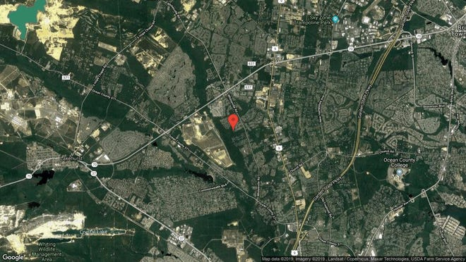 This aerial photo shows the approximate location of 263 Benthook Road in Toms River. The property at this address changed hands in September 2019, when new owners bought the property for $500,000.